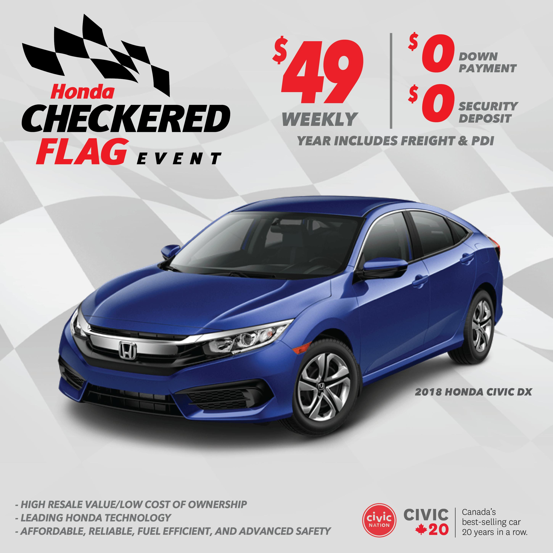 Honda Checkered Flag Event | Civic