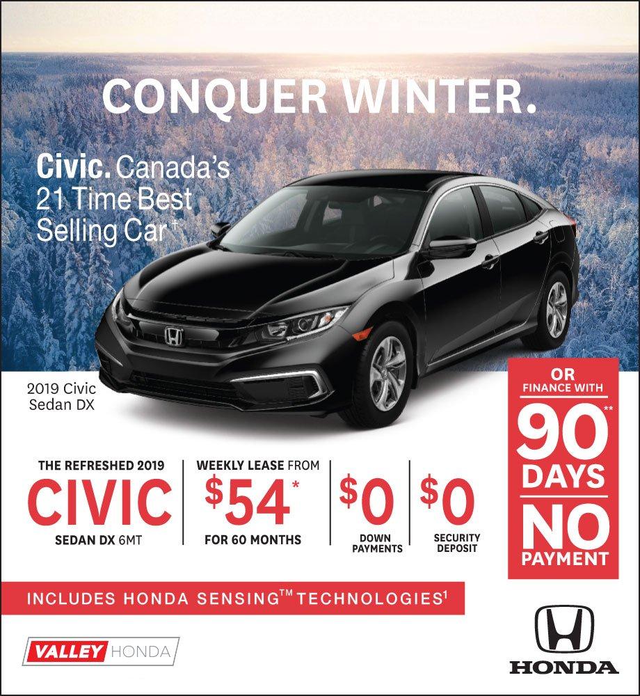 Conquer Winter – Civic