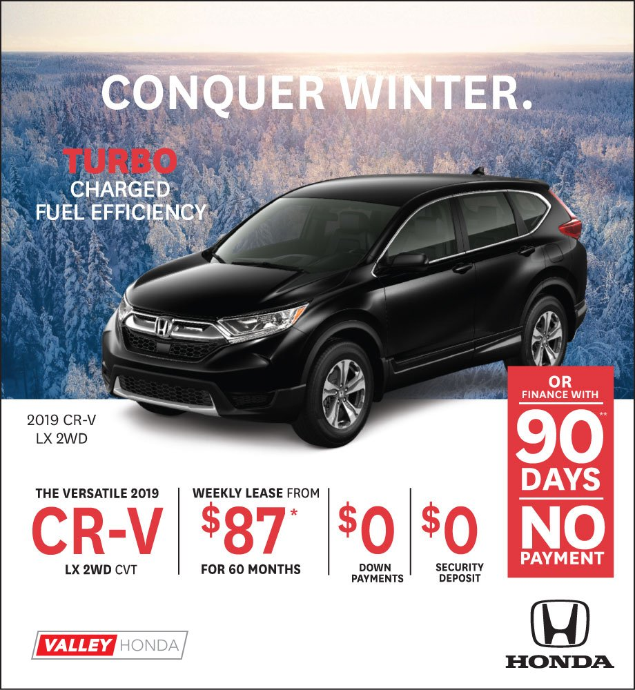 Conquer Winter – CR-V