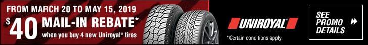 Uniroyal – Tire Promotion